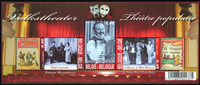 Belgium - Theatre - Mint souvenir sheet