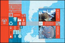 Argentine - Protection des pôles - Bloc-feuillet neuf