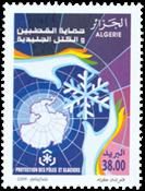 Algeriet - Global opvarmning - Postfrisk frimærke