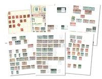Etats-Unis - Collection en classeur 1851-1974