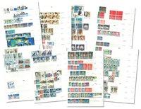 Europa - Postfrisk og stemplet i 3 indstiksbøger