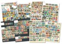 Afrika - Postfrisk og stemplet i 3 indstiksbøger