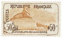 Frankrig 1917 - YT 153 - Ubrugt