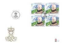 Dronning Margrethe II 80 år - FDC/4