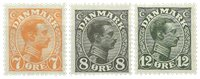 Danemark - AFA 98-100 neuf avec ch.