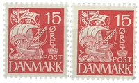 Danmark - Postfriske mærker 203a + 203b