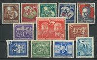 DDR - Sammenstilling af postfriske frimærker