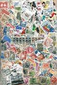 Danimarca - 1800 francobolli differenti