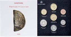 Danmark møntsæt 2020