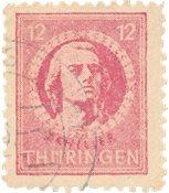 Zones allemandes (1945-1949) 1945 - Michel 97AXar - Oblitéré