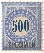 Schweiz 1878 - Michel 9 - Postfrisk
