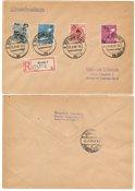 Tyskland Zoner 1948 - Michel 170, 173, 176/177 - Stemplet