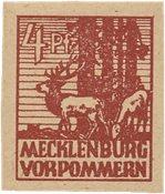 Tyskland Zoner 1946 - Michel 31yb - Postfrisk
