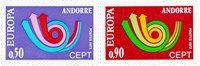 Andorre française 1973 - YT 226/227 - Neuf