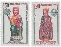 Andorre française 1974 - YT 237/238 - Neuf