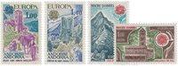 Andorre française 1977/1978 - YT 261/262+269/270 -  Neuf