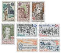 Andorre française 1979/1982 - YT 276/277+284/285+292/293+300/301 - Neuf