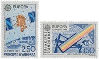 Andorre française 1991 - YT 402/403 - Neuf