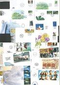 Suomi - Vuoden 1999 ensipäivänkuoret, postin lajitelma