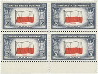 USA 1942 4-blok Michel 512-24