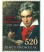 Ungarn - Beethoven - Postfrisk frimærke