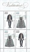 Hongrie - Costumes nationaux - Bloc-feuillet neuf