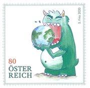 Østrig - Købe fremtiden - Postfrisk frimærke
