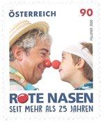 Autriche - Clowns d'hôpitaux - Timbre neuf