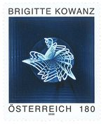 Autriche - Brigitte Kowanz - Timbre neuf
