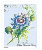 Østrig - Passionsblomst - Postfrisk frimærke