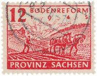 Tyskland Zoner 1946 - Michel 91Y - Stemplet