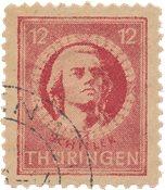 Zones allemandes (1945-1949) 1945 - Michel 97AYby - Oblitéré