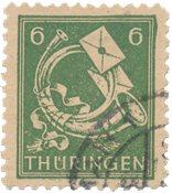 Zones allemandes (1945-1949) 1945 - Michel 95AXcw - Oblitéré