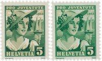 Schweiz 1933 - Michel 266 - Postfrisk