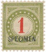 Schweiz 1883 - Michel P15 - Postfrisk