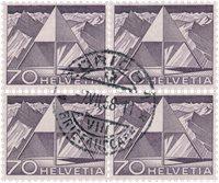 Suisse 1949 - Michel 540 I - Oblitéré