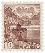 Schweiz 1939 - Michel 363z - Postfrisk