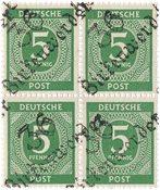 Tyskland Zoner 1948 - Michel Ib VII - Postfrisk
