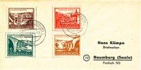 Zones allemandes (1945-1949) 1946 - Michel 112/115  - Oblitéré