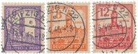 Tyskland Zoner 1946 - Michel 159/161x - Stemplet