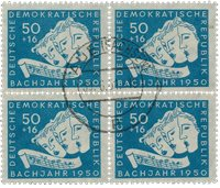 Østtyskland/DDR 1950 - Michel 259 - Stemplet
