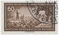 Østtyskland/DDR 1955 - Michel 478 - Stemplet
