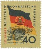 Østtyskland/DDR 1959 - Michel 727X - Postfrisk