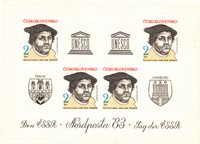 Tchécoslovaquie 1983 - Michel bloc 56 - Neuf