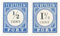 Pays-Bas 1894/1910 - NVPH P13+15 - Neuf