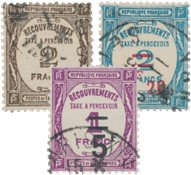 France 1927/1931 - Timbre-Taxe  - Oblitéré - Oblitéré