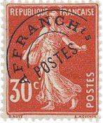 France 1922/1947 - YT PO 58 - Neuf avec charnières