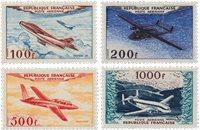 Frankrig 1954 - YT PA 30-33 - Ubrugt