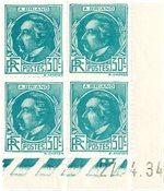 France 1933 - YT CD 291 - Neuf avec charnières