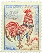 Frankrig - Hane 1962 - YT no 1331d